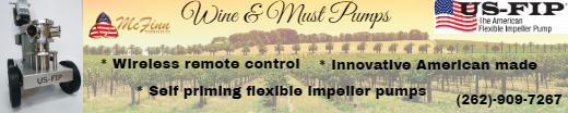 US-FIP wine & must pumps