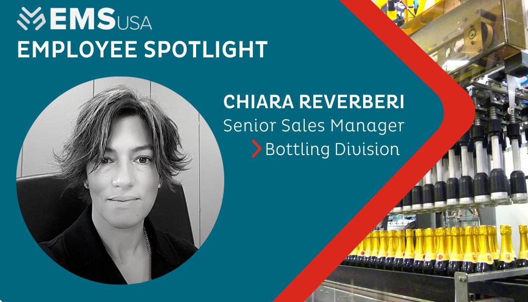 Chiara Reverberi, Senior Sales Manager, Bottling Division